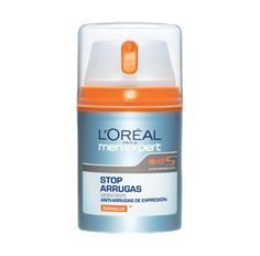 L'ORÉAL Stop Arrugas para el hombre.Los rasgos se relajan y la expresión del rostro tiene un aspecto rejuvenecido. Protege contra la irritación.  http://www.perfumeriarosy.es/joomla/cosmeticos/loreal.html