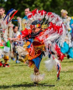 Young Native Family Series: Adorable Toddler Pow Wow Dancers-  A very young yet highly skilled Native American Dancer.