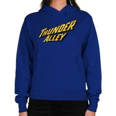 Thunder Alley Ladies Logo Midweight Pullover Hoodie - Royal Blue Football Fanatics. $45.95