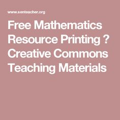 Free Certificates and Label Printing ⋆ Creative Commons Teaching Materials Math Websites, Educational Websites, Ways Of Learning, Learning Activities, Learn Math Online, Class Tools, Literacy And Numeracy, Summer Courses, Primary Teaching