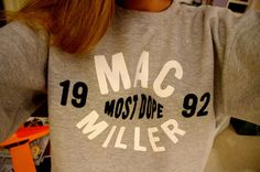 Mac Miller sweater? Hell yes!