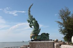 Check-in: Asian Hotel     Dragon head statue - Samila Beach Songkhla     Samila Beach from Khoa Tang Kuan Hill     Songkhla from Khoa Tang...