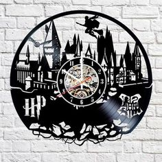 Harry Potter Vinyl Record Wall Clock