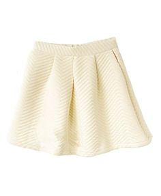 Thicken Cotton Pleated Mini Skirt - Skirts - Clothing