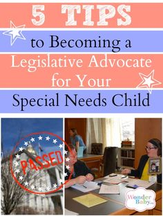 Penny discusses how to become more active in advocating for your child through the legislative system. When you have a child with a disability you need to be heard - and your opinion matters!