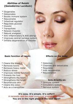 The Benefits Of Ganoderma. Change Your Coffee. Health//Health & Wellness // Coffee // Organic Ganoderma// Reishi // Immune System // Coffee Lovers // Health Benefits Of Reishi // Reishi Mushroom // Ganoderma // Health Benefits Herbalife, Toxin Cleanse, Boost Immune System, Coffee Health Benefits, Coffee Pictures, Forever, Central Nervous System, My Coffee, Happy Coffee