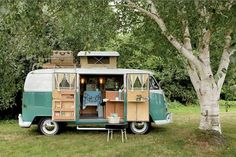 Volkswagen Type 2. I WILL own one of these one day and it will be sort of a vacation vehicle. I shall use it for road trips and adventures!