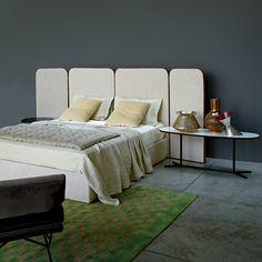 'Palazzo' bed by Ellen Bernhardt and Paola Vella for Arflex, £5,570, Chaplins (chaplins.co.uk)