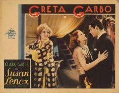 Lobby Card from the film Susan Lenox