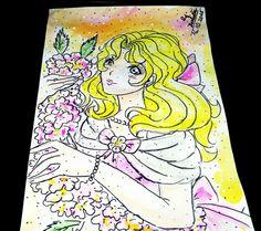 Watercolor Kawaii Princess (´∀`)