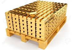 Pallet With Bullion Of Gold Stock Illustration - Illustration of ingot, gold: 39046101 Gold Bullion Bars, Gold Everything, Gold Reserve, Money Stacks, Gold Money, Gold N, Gold Stock, Gold Rate, Gold Coins