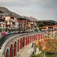 Arachova, Greece ...    #arachova #greece