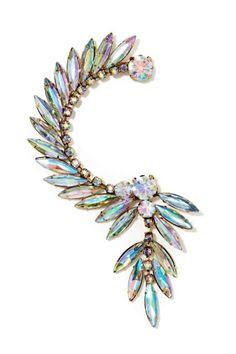 Crystal ear cuff by nasty gal Nasty Gal Jewelry Earrings I Love Jewelry, Jewelry Box, Jewelery, Jewelry Accessories, Fashion Accessories, Jewelry Design, Fashion Jewelry, Cuff Jewelry, Skull Jewelry