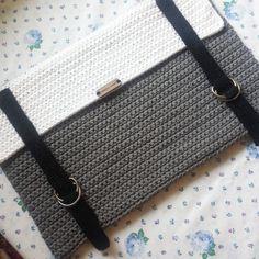 Crochet Laptop Sleeve Laptop Cover Handmade Macbook por RKCHandmade More
