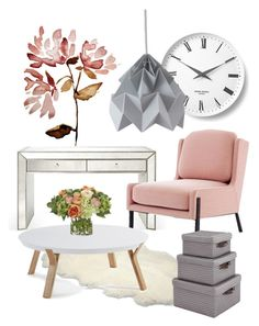 """""""Contemporary: Pastel"""" by jonah-diaz on Polyvore featuring interior, interiors, interior design, home, home decor, interior decorating, Georg Jensen, UGG Australia, NDI and contemporary"""