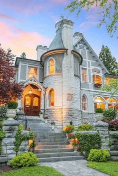 Dream Home Design, My Dream Home, House Design, Staunton Virginia, New Swedish Design, Beautiful Homes, Beautiful Places, Beautiful Buildings, Victorian Style Homes