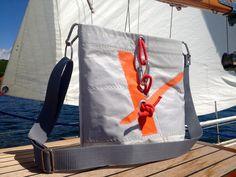 Sailcloth Bag/Sail Bag/Messenger Bag/Shoulder B... from RoughElement by DaWanda.com