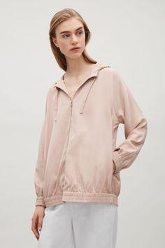 COS | Hooded zip-up jacket