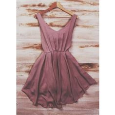 The Vogue Fashion: Smart Mauve Silk Mini Dress The Dress, Dress Skirt, Skater Dress, Sundress Outfit, Dress Vest, Pretty Dresses, Beautiful Dresses, Mauve Dress, Dusty Rose Dress
