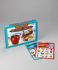 Take a look at this Magnetic Picture Bingo Game by Lauri by Patch Products on #zulily today!