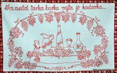 Az asztal tarka... - Magyar falvédő ¤ Hungarian wall carpet