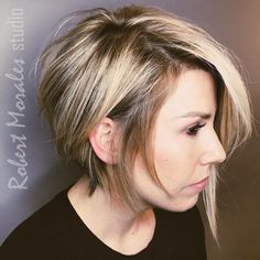 """Short hair is sexy..."" By Sarah #TeamRMS #RobertMoralesStudio #RMShaircrush #RMSbeauty #southlaketx"