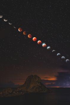 "~ A T L A S ~ is part of Galaxy wallpaper - stayfrsh ""Blood Moon "" Planets Wallpaper, Cute Wallpaper Backgrounds, Galaxy Wallpaper, Nature Wallpaper, Screen Wallpaper, Moon Photography, Landscape Photography, Blood Moon Eclipse, Lunar Eclipse"
