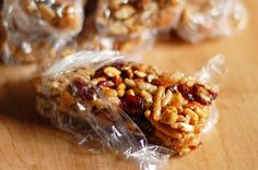 Of all the pre-made and pre-packaged foods that we've been trying to move away from, we've found it hardest to let go of snack bars - particularly Nutri-Grain's Fruit and Nut Bars. We were devastated when they disappeared from store shelves! Then again, now we've figured out how to make them ourselves!