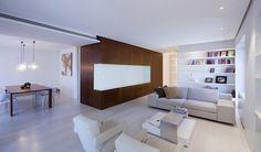 Modern apartment renovation in Rome: Casa-O