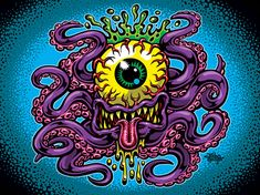 Cycloptopus by Jimbo Phillips