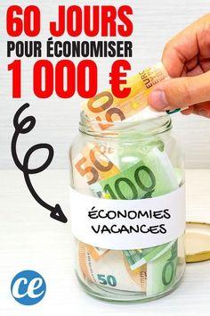 Take the Challenge 60 Days To Save 1 000 Budgeting Finances, Money Saving Tips, Personal Finance, Challenges, Filofax, Bullet, Brick, Chiffon, Motivation