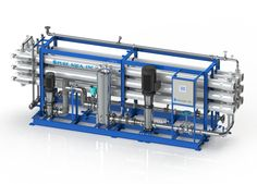 Reverse osmosis systems are used to purify water and remove salts and other impurities from tap and brackish water. It is also capable of rejecting bacteria, sugars, proteins, particles, dyes, and other constituents that have a molecular weight of greater than 150-250 daltons. Our largest tap and brackish water units, the RO-500 series, comes standard with media pre-filters, chemical dosing, and antiscalant. These systems can be customized to fit individual customer and water application…