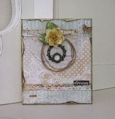 Project by designer Paulien van den Bosch using the October 2014 kit collection, Treasured Yesterdays.   swirlydoos.com