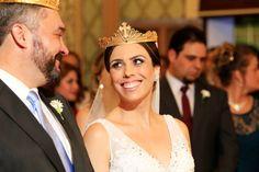 O casamento lindo da Bruna e do Alexandre, realizado em uma Igreja Ortodoxa em Curitiba, com todas as tradições que tem direito.