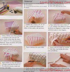 МК лепка Разных Корзинок-different gumpaste baskets tutorials - Мастер-классы по украшению тортов Cake Decorating Tutorials (How To's) Tortas Paso a Paso