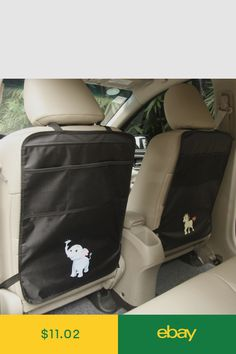 to fit Audi A4 2008 Onwards Titan Waterproof Car Back Seat Cover Black