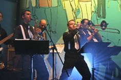 London Bands, #Wedding #Bands #Performing at The Roundhouse in Camden #LondonSoul #LondonSwing #Party www.London-Bands.co.uk #Wedding #Trumpet #Saxophone #Brass
