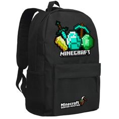 Cheap Backpacks, Buy Directly from China Suppliers: Note 1 inch = cm, = inch Note There might be slightly difference in color, because of the c Cheap Backpacks, Outdoor Backpacks, School Backpacks, Minecraft Lunch, Minecraft Backpack, Kids School Shoes, School Bags, Minecraft Decorations, Minecraft Crafts