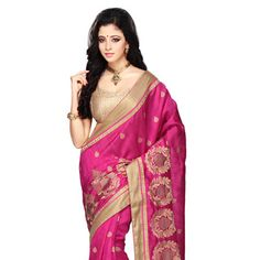 #Silk #Saree with Blouse Silk Sarees Online, Georgette Sarees, Shoe Brands, Latest Fashion Trends, Sari, Blouse, How To Wear, Clothes, Collection