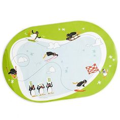 Pingu placemat - for my nephew