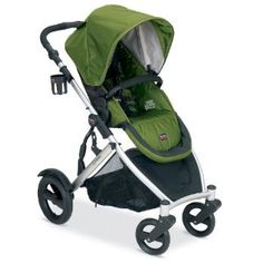 Britax B-Ready Stroller 2013 in Moss does needs travel system for new born other wise  6 mo to 5 yrs, No maintenance all terrain tires. Adjustable handle bar. huge basket. easy moving harness. 2 handed fold. can be made into double stroller.-LOVE THIS GREEN