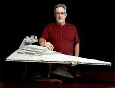 Model Kits — Randy Cooper Models & Design Fantastic Voyage, Star Wars Models, Building For Kids, Star Destroyer, Obi Wan, Model Kits, Blade Runner, Lego Star Wars, Starwars
