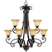 San Dimas Collection Twelve Light Chandelier - #14941 | LampsPlus.com