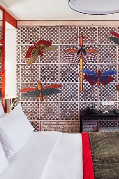 Guestrooms at the Hotel le Bellechasse are each uniquely designed by Christian Lacroix. #Jetsetter