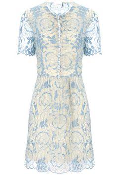 blue lace lana dress