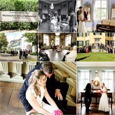 Hochzeitslocation des Standesamtes Ratingen. Historische Kulisse, netter Park fürs Shooting! www.hochzeitsfotografie-duisburg.de