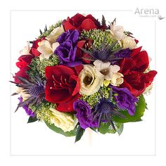 Red And Purple Wedding Flowers | The Wedding Specialists