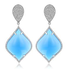 Shop Designer Luccello Diamond Jewelry at discounted prices. We have wide collection of Designer Luccello Jewelry including rings, necklaces & more. Blue Diamond Jewelry, Diamond Earrings For Women, Diamond Watches For Men, Diamond Drop Earrings, Gemstone Earrings, Trendy Fashion Jewelry, Fashion Accessories, Earrings Handmade, Jewelry Design