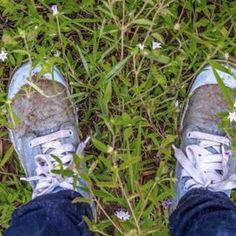 Grass Stains Out of White Shoes