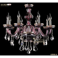 $2,114.00 / piece Fixture Width: 75 cm (30 inch) Fixture Length : 75 cm (30 inch) Fixture Height:55 cm (22 inch) Color : purple Materials:crystal,metal
